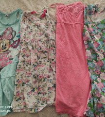 Lot 4 haljine 152