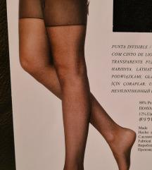 Čarape za haltere, crne, 20 DEN a