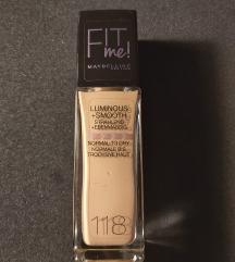 Maybeline FIT me! 118/Light beige