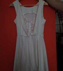 Bijela kratka haljina