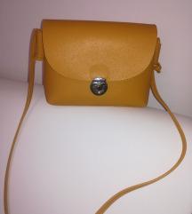 NOVO mala žuta torbica