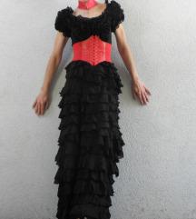 kikiriki gothic maxi haljina