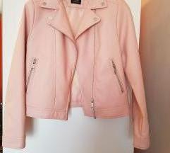 Roza kozna jaknica 11-12god