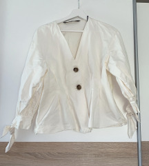 Zara bijela kratka košulja