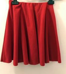 Zara crvena suknja
