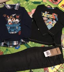 Nove trapke i 2 majice