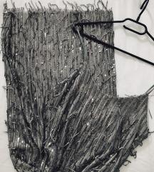 Srebrena haljina Sa pt