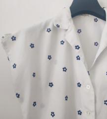Retro vezena bluza