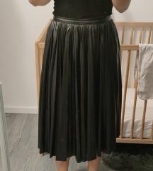 Kozna suknja #gratis postarina#