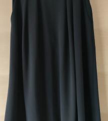 Midi crna suknja