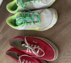 Vans i Nike tenisice