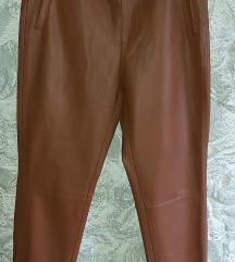 Zara kožne hlače M