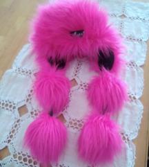 Nova Avanti kapa rozo krzno