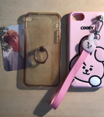 LOT maskica iphone6/6S KPOP+ANIME 💜🐰 (PT UKLJ)