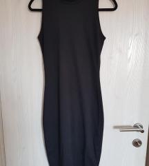 Zara klasična crna haljina