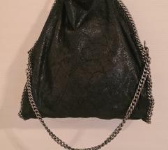 Kožna torba sa lancima