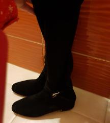 Massimo Duti čizme crne k'o čarape