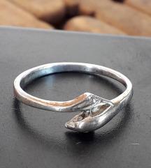 Prsten-delfin srebro 825 UNIKAT
