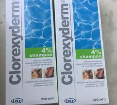 2x NOVO Clorexyderm šampon za pse i mačke