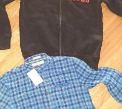 Lot TH pulover+ kosulja Mango vel.140/146