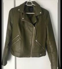 Zara maslinasto zelena jakna