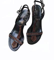 Fendi kozne original sandale