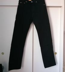 Levisice 501 crne NOVE S ETIK visok struk hlače