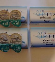 Kontaktne leće Air Optix Aqua -3,25 i -6,00