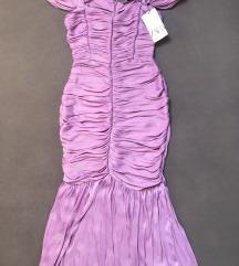 Zara lila haljina