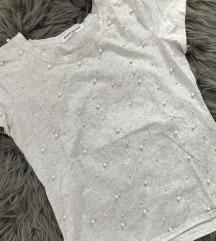 Kratka majica s perlicama