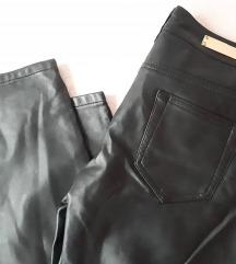 Orsay crne hlače, eko koža, nikad nošene