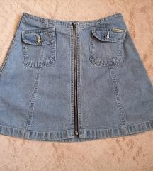 Vintage jeans suknja