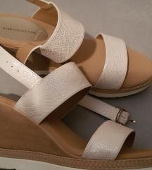 Ljetne sandale puna peta vel. 41