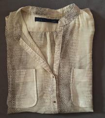 Oversized bluza zmijskog uzorka
