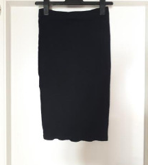 ZARA crna uska suknja s-m