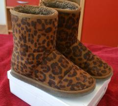 Leopard print čizme