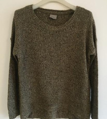 Vero Moda maslinasti pulover vel M-L