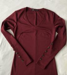 Sinsay bordo haljina