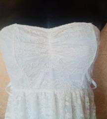rastezljiva čipka koktel haljina