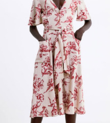 Zara lanena haljina