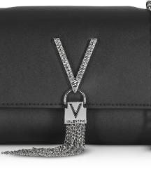 Valentino torbica s ukrasnim kristalima