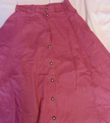 Retro široka suknja