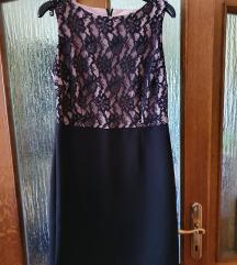 Svečana midi haljina s čipkom