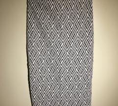 Zara Trafa crno bijela suknja