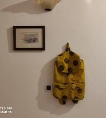 Ručno rađeni žuti ruksak