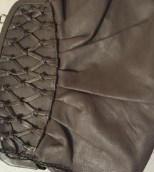 Naf Naf kožna torbica - novo