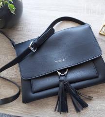 Nenošena crna torba