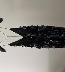 Sljokicasta haljina kratka