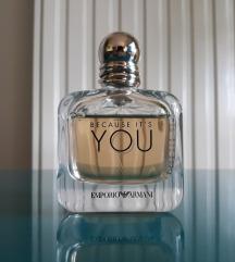 Armani Because its you