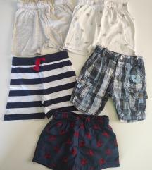 Lot - Kratke hlačice - 5 kom